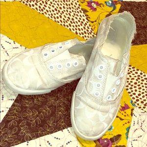 Coach Katie canvas shoes